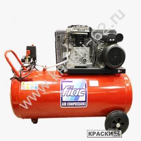 Компрессор FIAC AB 100/360A (220В, 360л/мин, 100л, 2.2кВт, 10бар, 2цилиндра)