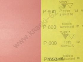 Наждачная бумага водостойкая SIA  600 230х280 мм