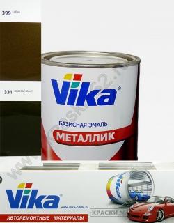 331 Золотой лист VIKA металлик базисная эмаль
