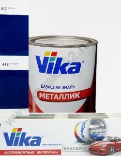 448 Рапсодия VIKA металлик базисная эмаль