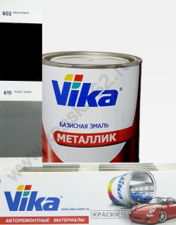 602 Авантюрин VIKA металлик базисная эмаль