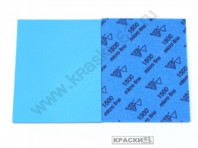Губка абразивная односторонняя 1500 Micro Fine SIA Abrafoam 115х140х5 мм
