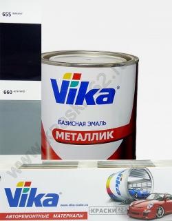 660 Альтаир VIKA металлик базисная эмаль