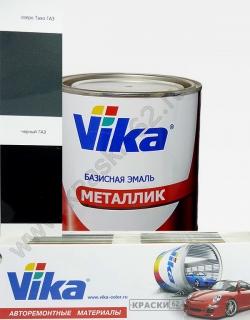 Черный ГАЗ VIKA металлик базисная эмаль