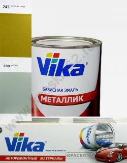 245 Золотая нива VIKA металлик базисная эмаль