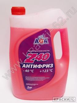 Антифриз AGA Z40 5 кг