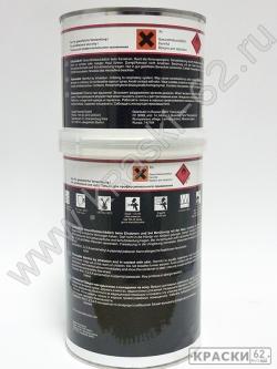 Лак прозрачный BLACK LABEL + отвердитель ULTRA HS CAR-FIT 1,5л