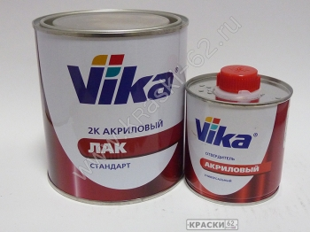 Vika 2К акриловый лак СТАНДАРТ