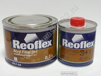 REOFLEX АКРИЛОВЫЙ ГРУНТ 3+1 0,5 л