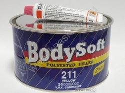 Шпатлевка BODY SOFT полиэфирная 2кг BODY 211