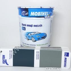 385 Изумруд MOBIHEL металлик базовая эмаль