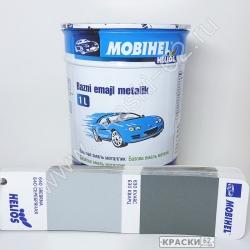 640 Серебристая MOBIHEL металлик базовая эмаль