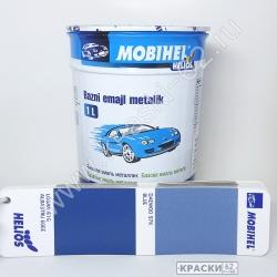 Daewoo 97k blue MOBIHEL металлик базовая эмаль