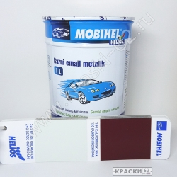 240 Белое облако - UNI MOBIHEL металлик базовая эмаль