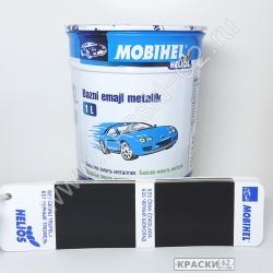 635 черный шоколад MOBIHEL металлик базовая эмаль