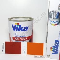 165 тёмная красно-оранжевая Коррида VIKA АКРИЛОВАЯ ЭМАЛЬ АК-1301