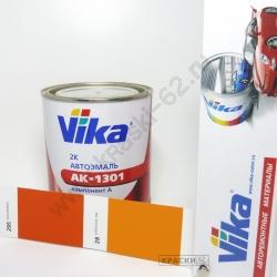 295 Оранжевая VIKA АКРИЛОВАЯ ЭМАЛЬ АК-1301