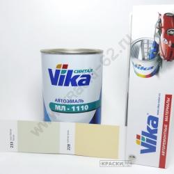 233 Серо-белая Белая VIKA Синталовая эмаль МЛ-1110