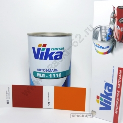 165 тёмная красно-оранжевая Коррида VIKA Синталовая эмаль МЛ-1110