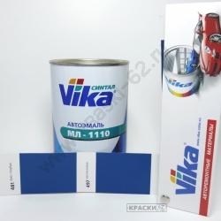 481 Ярко-голубая VIKA Синталовая эмаль МЛ-1110
