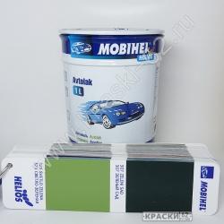 325 Светло - Зеленая MOBIHEL АЛКИДНАЯ ЭМАЛЬ