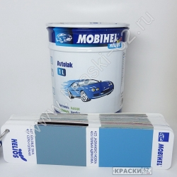 427 Серо - Голубая MOBIHEL АЛКИДНАЯ ЭМАЛЬ