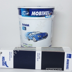 VW LY5D Azurit Blau MOBIHEL АЛКИДНАЯ ЭМАЛЬ