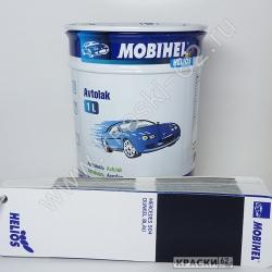 Mercedes 904 dunkel blau MOBIHEL АЛКИДНАЯ ЭМАЛЬ
