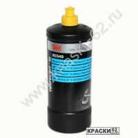 Полироль 3M 80349 Extra Fine (1л) для твердых лаков (желтый колпачок) для твердых покрытий