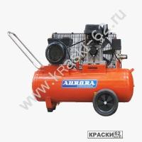Компрессор Aurora STORM- 50 (50л, 290л/мин, 2,2кВт, 220В, 2 цилиндра) - ременной