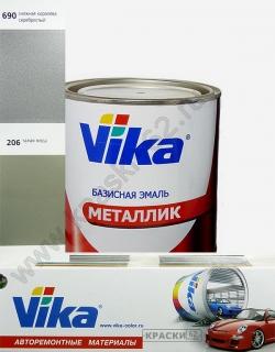 206 Талая вода VIKA металлик базисная эмаль