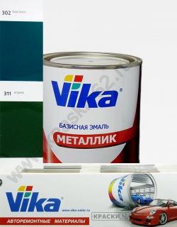 302 Бергамот VIKA металлик базисная эмаль