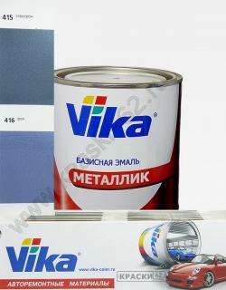 416 Фея VIKA металлик базисная эмаль