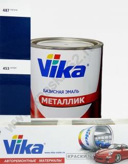 453 Капри VIKA металлик базисная эмаль
