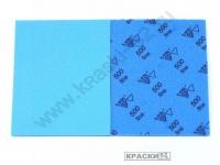 Губка абразивная односторонняя  500 Fine SIA Abrafoam 115х140х5 мм