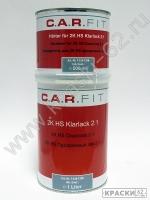 Прозрачный лак 2+1 HS CAR-FIT 1,5л