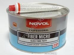 NOVOL ШПАТЛЕВКА СО СТЕКЛОВОЛОКНОМ FIBER MICRO 1,8 кг