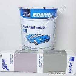 206 Талая вода MOBIHEL металлик базовая эмаль