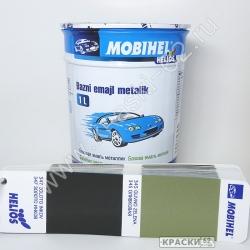 345 Оливковая MOBIHEL металлик базовая эмаль