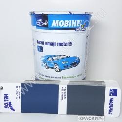 487 Лагуна MOBIHEL металлик базовая эмаль