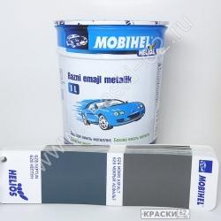 626 Мокрый Асфальт MOBIHEL металлик базовая эмаль