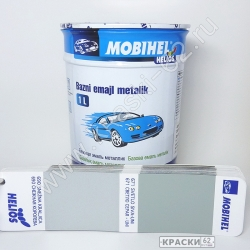 671 Светло - серая MOBIHEL металлик базовая эмаль