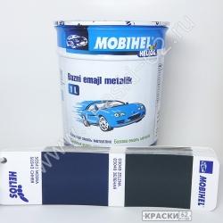 50343 Синяя MOBIHEL металлик базовая эмаль
