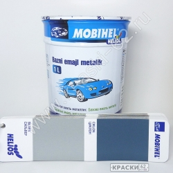 Сильвер MOBIHEL металлик базовая эмаль