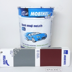 AUDI LY7P Titan MOBIHEL металлик базовая эмаль