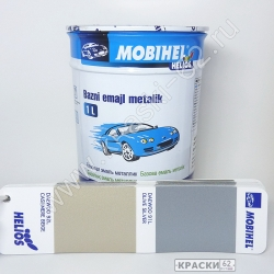 Daewoo 92L CASHMERE BEIGE MOBIHEL металлик базовая эмаль