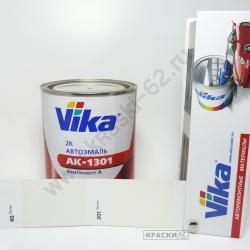 201 Белый VIKA АКРИЛОВАЯ ЭМАЛЬ АК-1301
