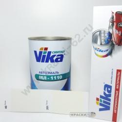 040 Белая VIKA Синталовая эмаль МЛ-1110
