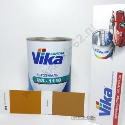 208 Охра золотистая VIKA Синталовая эмаль МЛ-1110