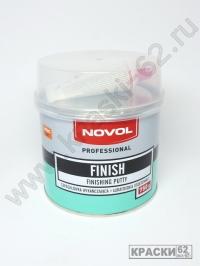 NOVOL FINISH шпатлевка финишная отделочная 0,75 кг